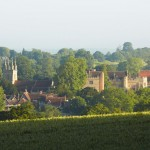 Penshurst Place and Church